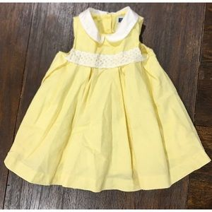 Janie and Jack Yellow Dress